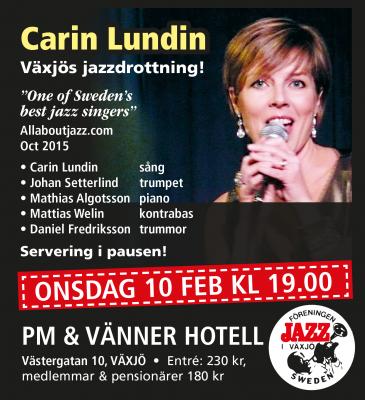 Carin Lundin affisch2
